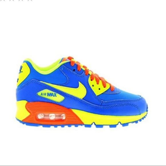 finest selection e40e9 592f6 Nike Air Max 90 (GS) Toddler Running Shoes 5c. M 5ae127f55521be98a68718e8